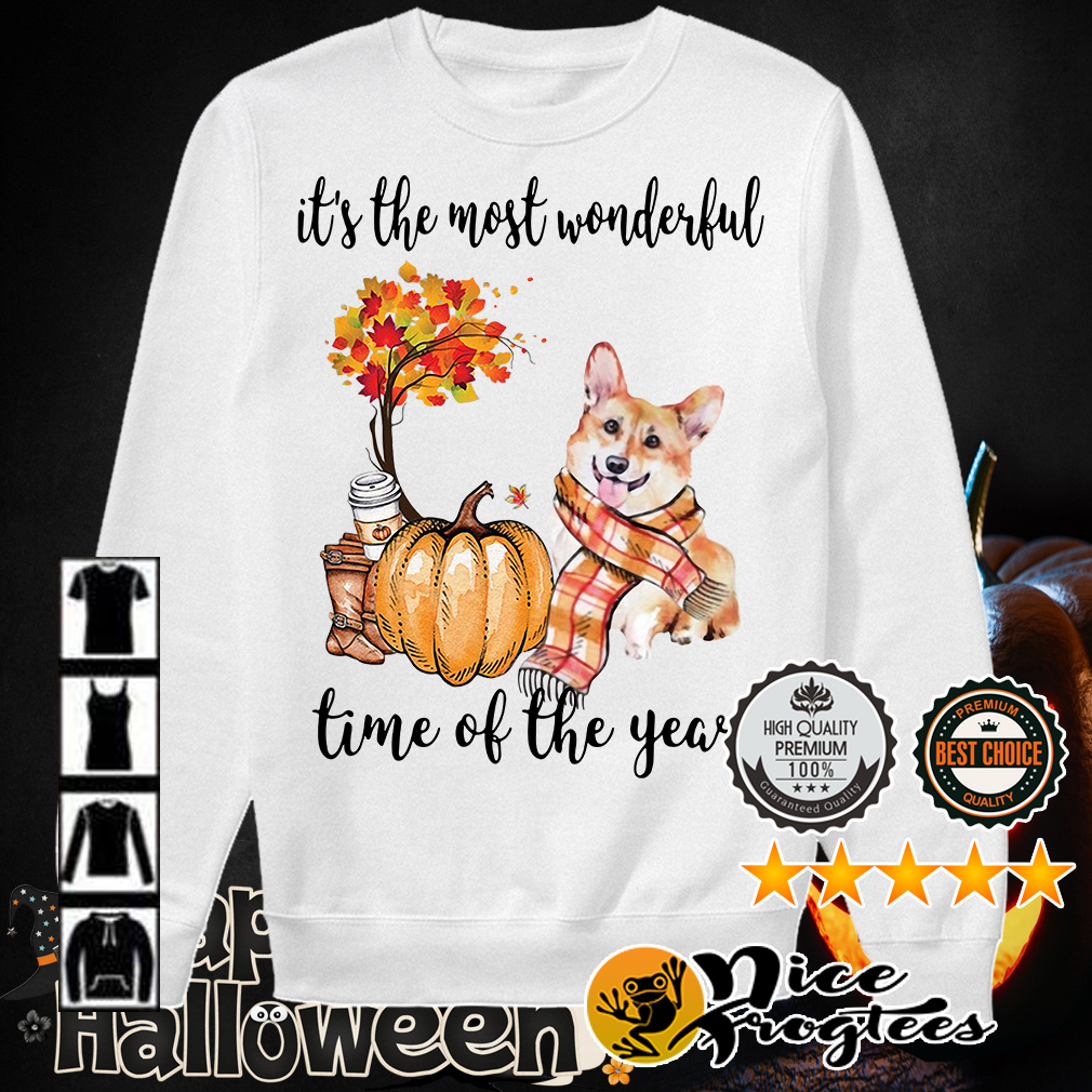 Welsh Corgi it's the most wonderful time of the year shirt