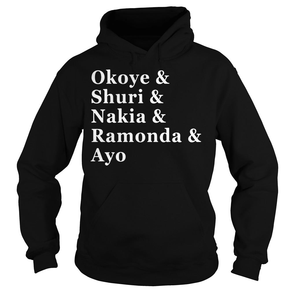 Women of Wakanda Black Panther: Okoye and Shuri Hoodie