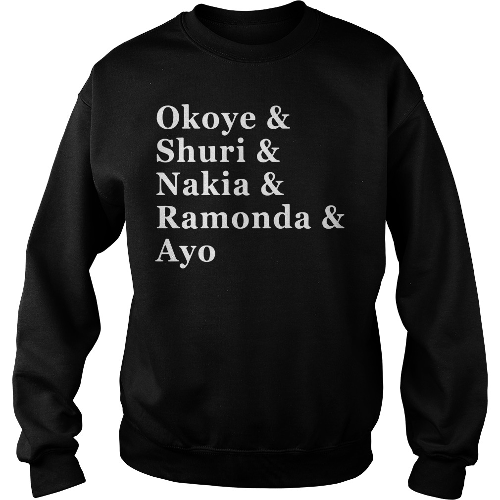Women of Wakanda Black Panther: Okoye and Shuri Sweater