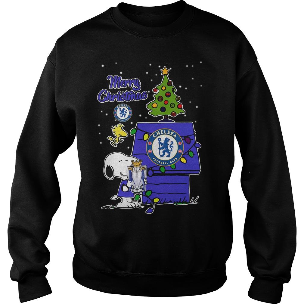 Snoopy Woodstock Chelsea Merry Christmas Sweater