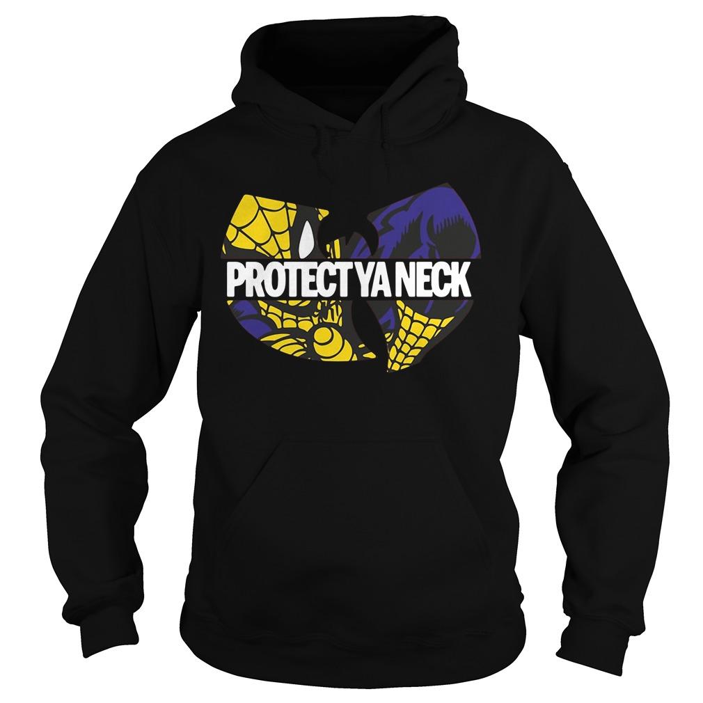 Wu-Tang Clan Spiderman protect ya neck Hoodie