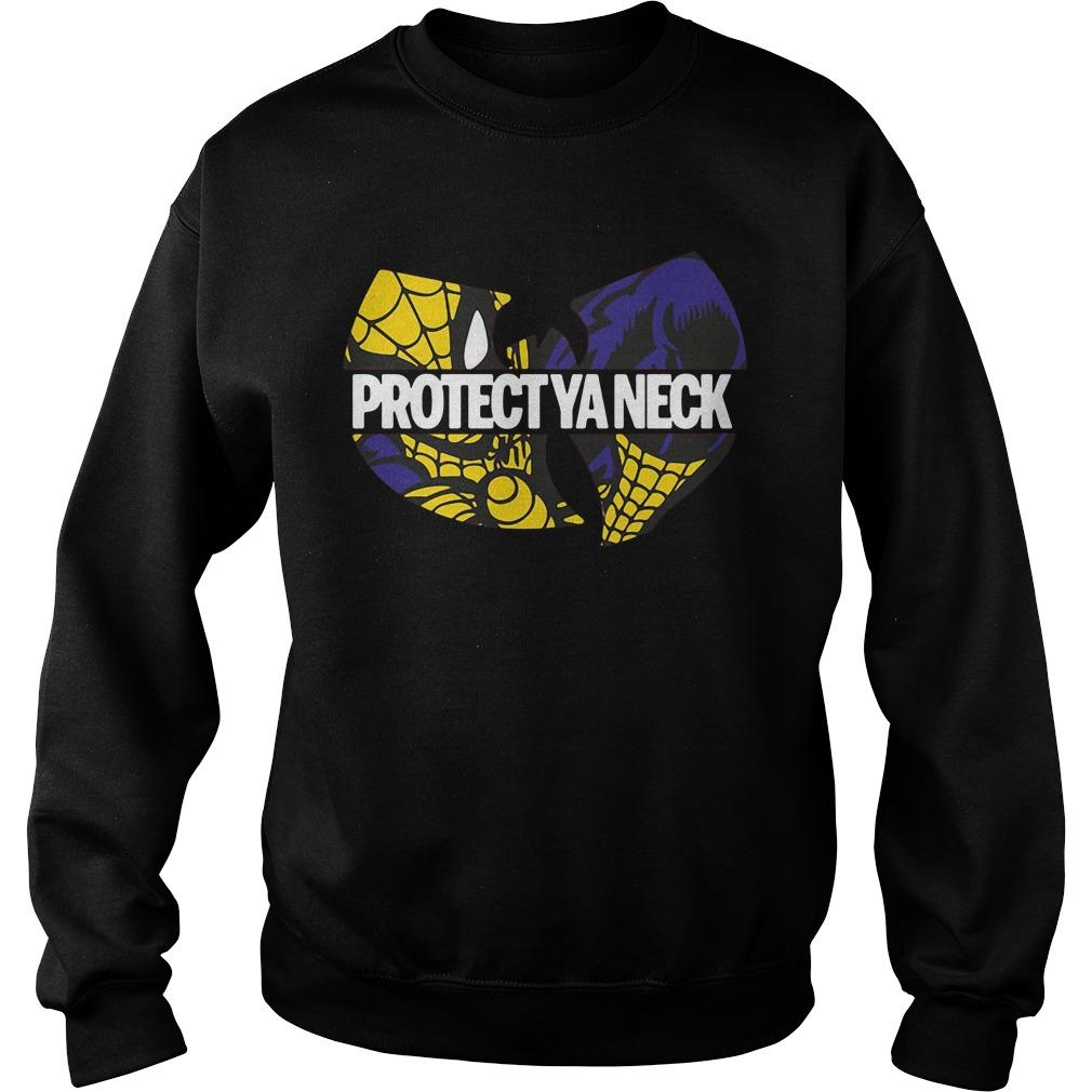 Wu-Tang Clan Spiderman protect ya neck Sweater