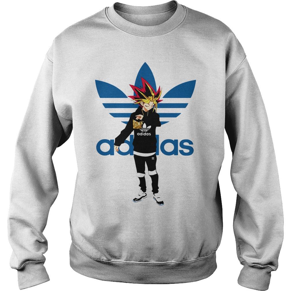 Yu-Gi-Oh adidas logo Sweater