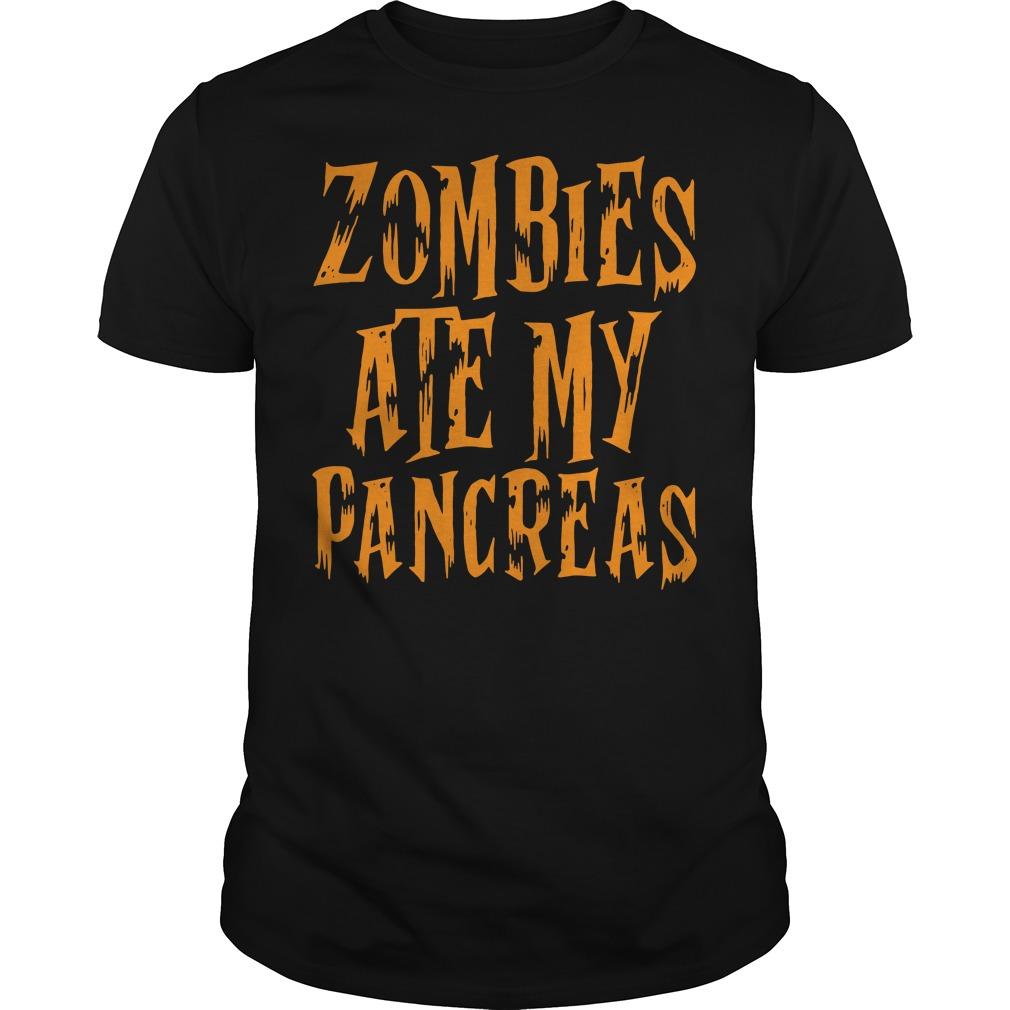 Zombies Ate My Pancreas shirt
