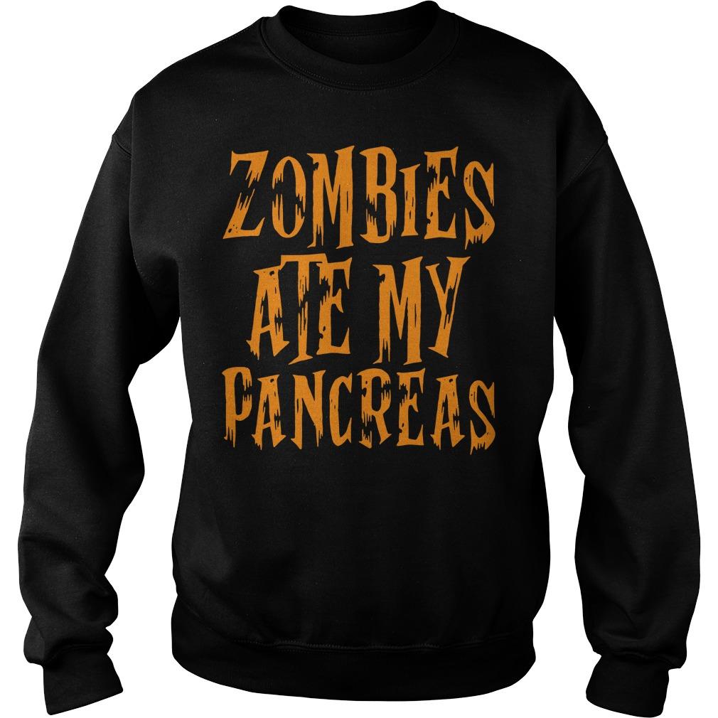 Zombies Ate My Pancreas Sweater